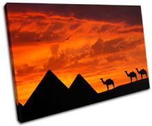 Egypt Pyramids Sunset Seascape - 13-1826(00B)-SG32-LO